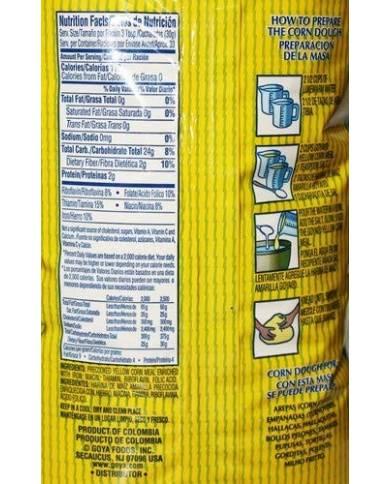 Goya Masarepa Yellow Corn Meal