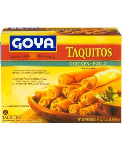Goya Pollo Taquitos, 21 oz.