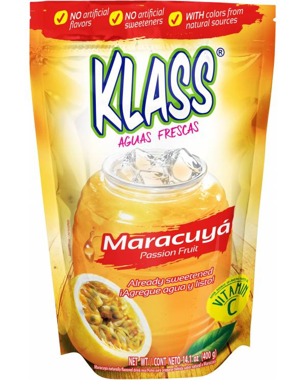 Klass Listo Maracuya, 14.1 oz.