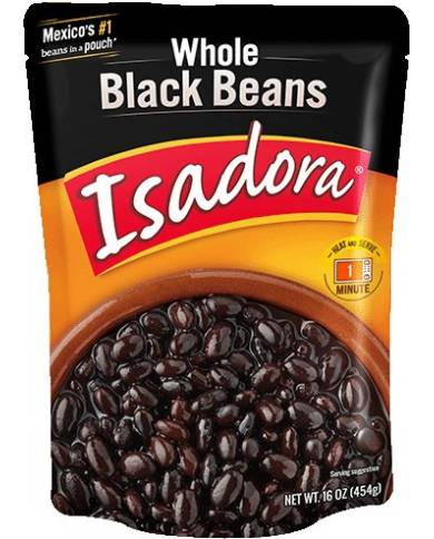 Isadora Whole Black Beans