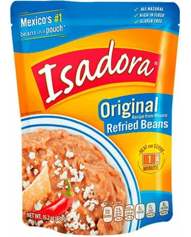 Isadora Refried Beans...