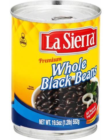 La Sierra Whole Black Beans