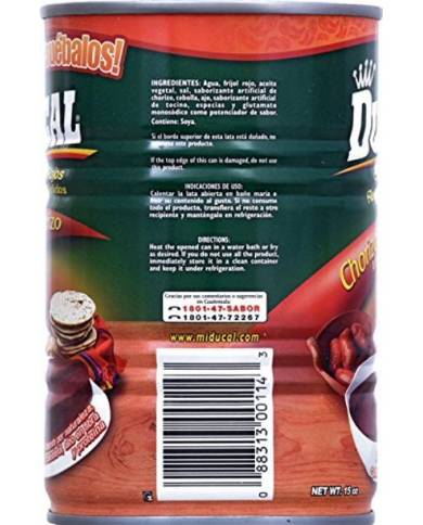 Ducal Refried Red Beans...