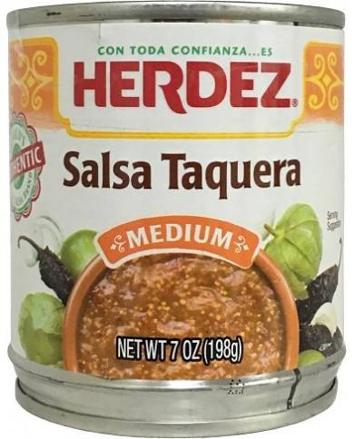 HERDEZ Salsa Taquera Medium