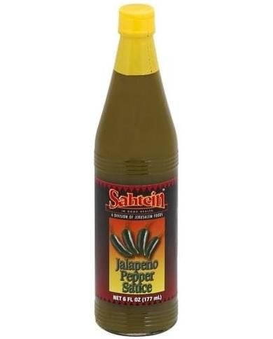 Sahtein Jalapeno Pepper Sauce
