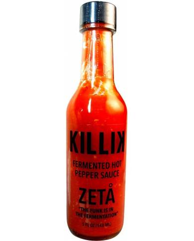 Killik Zeta Hot Pepper Sauce