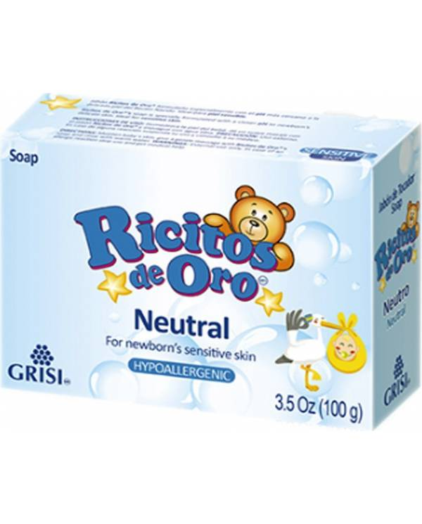 Ricitos de Oro Neutral Soap