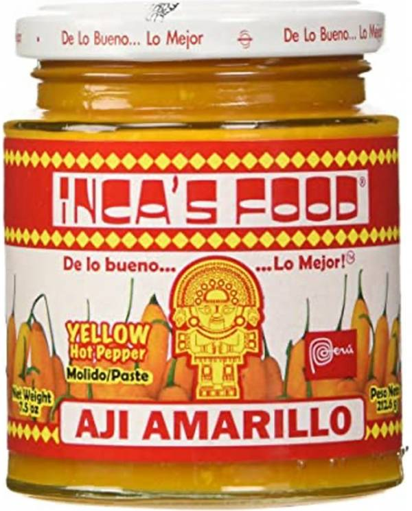 Ají Amarillo - Inca's Food
