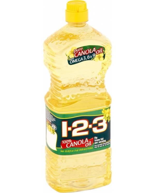 Canola Oil 1-2-3