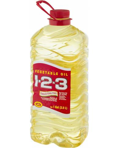 Vegetable Oil 1-2-3