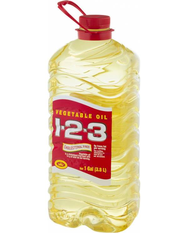 Vegetable Oil 1-2-3