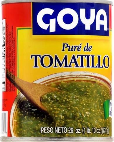 Goya Pure de Tomatillo