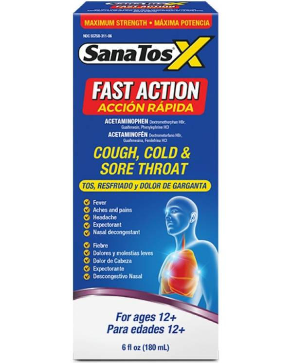 Sana Tos X Fast Action