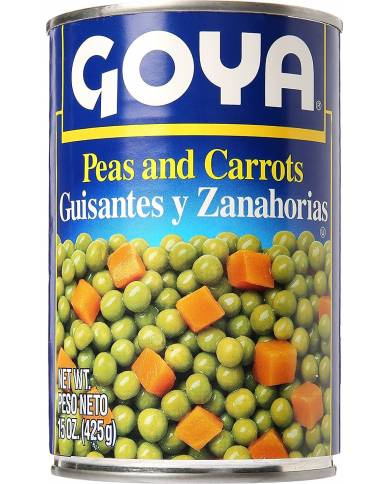 Goya Peas and Carrots