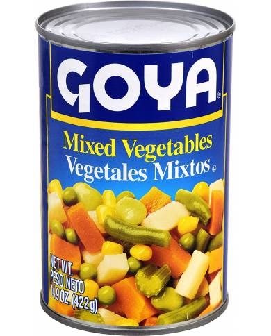 Goya Foods Mixed Vegetables
