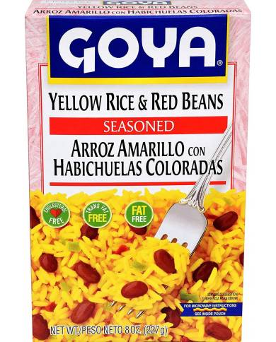 Goya Yellow Rice and Red...