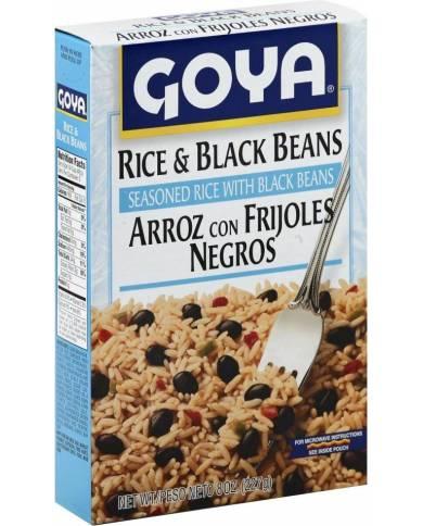Goya Rice & Black Beans 8 oz