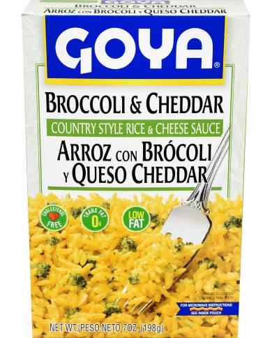 Goya Broccoli & Cheddar...