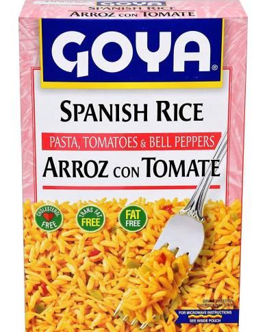 Goya Spanish Rice 7 oz with...