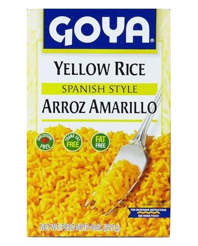 Goya Yellow Rice Spanish...