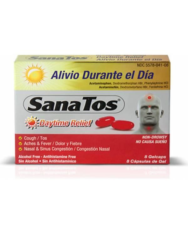 SanaTos Daytime Capsules