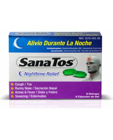 SanaTos Nightime Capsules